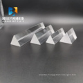 Custom Glass Triangular Prism Lens Equilateral for Teaching