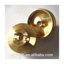 Torno CNC piezas de torneado servicio de fabricación personalizada latón pieza de torneado