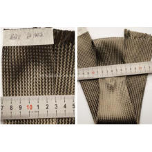 Funda de cable trenzado textil de fibra de carbono