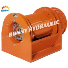 Free fall winch hydraulic winches