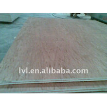 Móveis painel de madeira compensada de carvalho vermelho