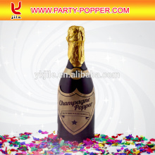 Champagner Flasche Party Popper Konfetti Shooter
