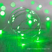 Micro guirlandes lumineuses 12 V / Guirlande lumineuse à fil de cuivre à DEL à piles / Mini guirlandes lumineuses à fil de cuivre à DEL étanches