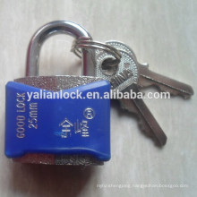 25mm colorful plastic shell student padlock
