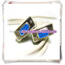 NULL MODEM CABLE SERIE DB9F a DB9F