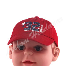Cotton Twill Kids Baby Kids Red Caps