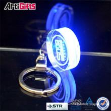 Nouveaux produits promotionnels cristal porte-clés laser