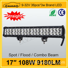 "Wholesale Brand chip 17"" 8160LM 108w trailer light bar"