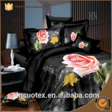 Cheap polyester cotton 3d twill full queen king bedding sets comforter sets duvets covers bed linens
