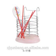 Estilo único Exquisite Workmanship Metal Wire Hanging Chopsticks Holder