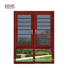 Prix 2017 du nouveau design de fenêtre à battant en aluminium pour le marché népalais