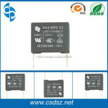 UL,VDE,ENEC,CQC,CB Certificated 330VAC  X2 Capacitor