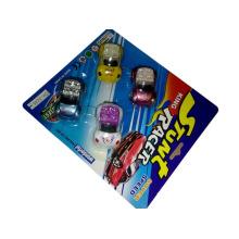 Pequeño coche de juguete plástico barato de la promoción
