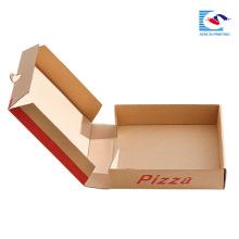 Papierpizzakasten der kundenspezifischen Größe für Lebensmittelverpackung mit eigenem Logo