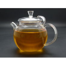 650ml Heat Resistant Glass Teapot with Infuser Coffee Tea Leaf Herbal (made of borosilicate glass 3.3)