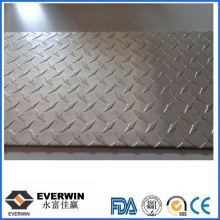 5 Bars Aluminium Checkered Sheet For Customer