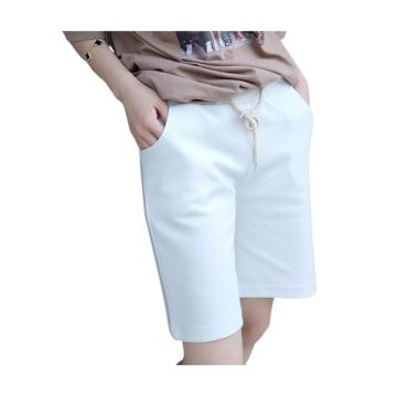 Womens Custom Summer Slim Fit Cotton Short Pants
