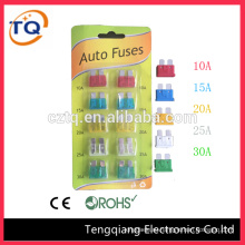 Zinc high Quality middle Car Fuse/auto fuse