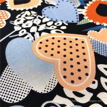 Nouvelle arrivée personnalisée tissu rayonne lisse multicolore