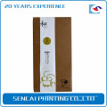 Sencai brown Kraft tea paper packaging box