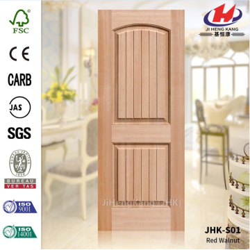 12MM Deep Groove Okume Red Walnut Door Skin