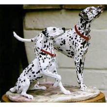 Escultura animal de la fibra de vidrio de la decoración