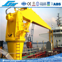 5t 10t Hydraulic Stiff Boom Marine Crane