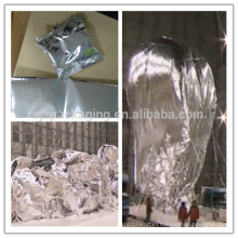 Metalized PA/AL foil for balloons