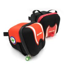 Personnaliser le sac de siège de selle de vélo en cuir dur résistant aux tempêtes
