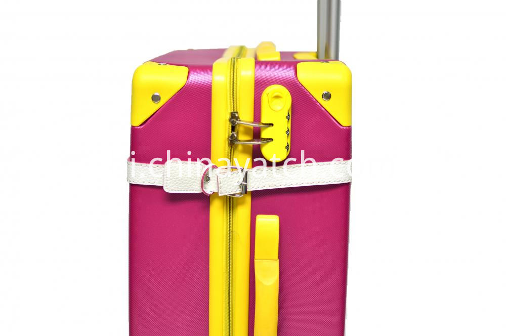 Contrast Color Appearance Travel Luggage