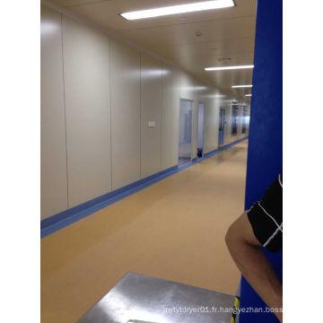 Sol en PVC pour salle blanche