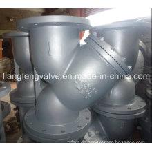 ASME Carbon Stahl Y-Sieb von Flansch Ende