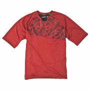 Men's Sports Top with Polyester, Cotton Fabric