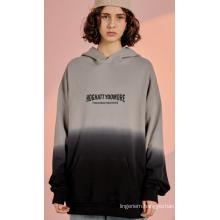 Cotton Gradual Change Crewneck Sweatshirt