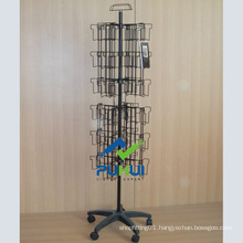 48 Sections Floor Metal Wire Pocket Rack (PHY11-205)