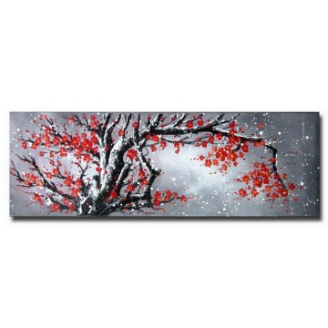 Decorative Handpainted Modern Flower Oil Painting