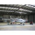 Garaje de acero / Hangar de estructura de acero (SSW-502)