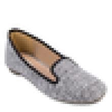 Урожай женщин офис обуви леди квартир площадь пальца ноги балерина