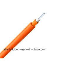 Многомодовый однослойный плотный буферный закрытый волоконно-оптический кабель LSZH
