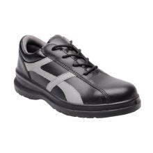 Novo design de sapatos de couro liso Andreia (HQ06008)