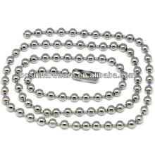 Мода высокого качества металла из нержавеющей стали из бисера мяч цепи