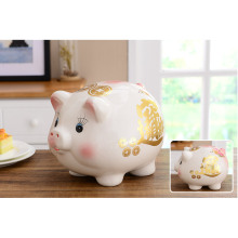 Promotional many shapes cute money box