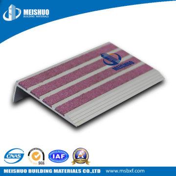 Anti Slip Aluminum Step Treads with Carborundum Insert