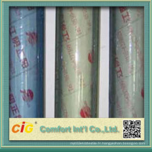Rouleau de feuille de PVC de couleur bleu de haute qualité