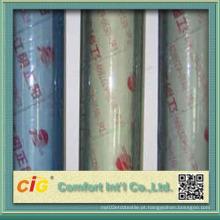 Rolo de folha de PVC de cor azul de alta qualidade