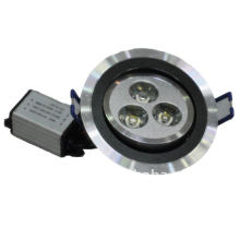 High power LED ceiling lamp with 3*1W
