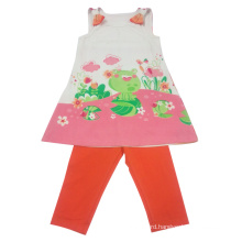 Summer Baby Girl Children′s Suit in Kids Clothes