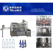 Petite machine de capsulage remplissante de rinçage de bouteille pour l'eau potable