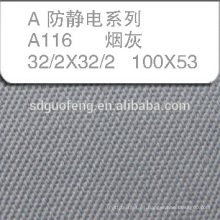 Commen T / C tela uniforme / taladro del hilo de la capa / telas de la ropa del negocio / telas del traje del trabajo / tela del puente / telas del mono petroleum-oi
