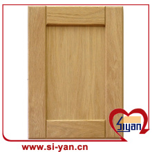 Vinyl wrapped shaker style cabinet doors